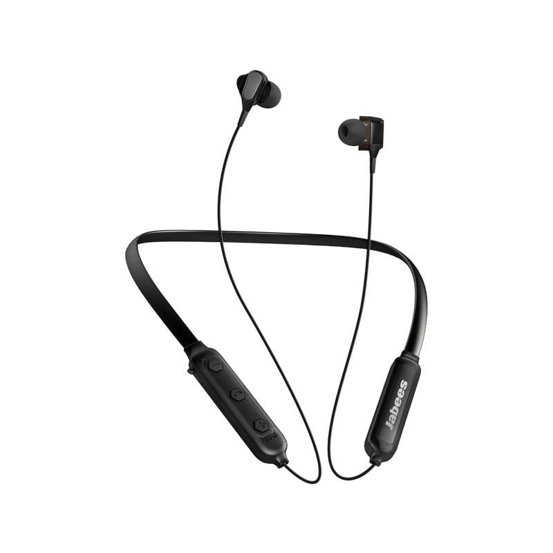 Jabees Duobees Bluetooth Neckband Headphones - Black