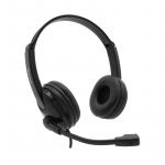 Computer-headset-Accutone-ub101-USB-Black